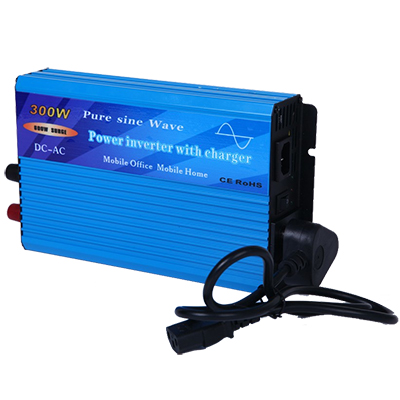 Inverter TYPC-300-300W, 12VDC/220VAC, pure sine wave, charger