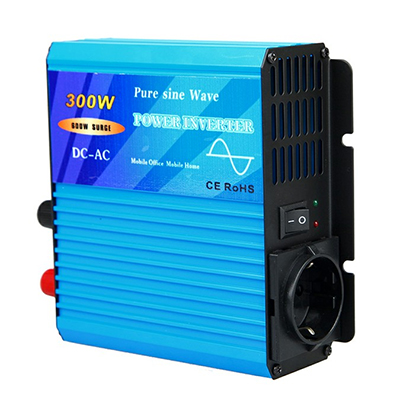 Inverter TY-300-S-300W, 24VDC/220VAC, pure sine wave