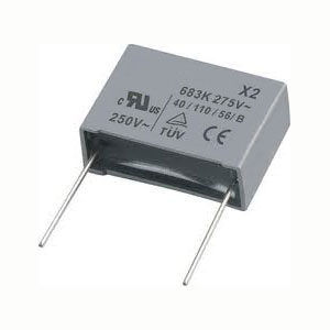 Anti parasite mkp capacitor x2 220-230v 0,33µf 330nf 15mm