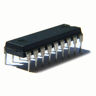 TTL Logic IC K555IP5, DIP-14
