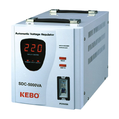 Voltage Regulator SDC-5000VA, servo type