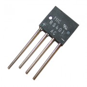 Image of Rectifier Bridge RS401, 4A/50V, RS-4
