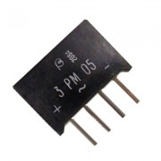 Image of Rectifier Bridge 3PMO5, 3A/50V