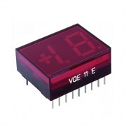 Image of Double LED Digit Display VQE11, 12.7 mm, common cathode, RED