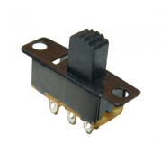 Image of Slide Switch 16x7 mm, 6P 2xON-ON, 0.3A/30VDC
