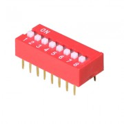 Image of DIP-8C Switch, 25mA/24VDC
