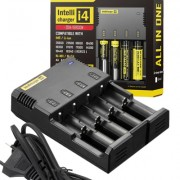 Image of Battery Charger NITECORE i4 V.2014, Ni-CD, Ni-MH, Li-ION