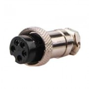 Image of Connector M16/IP40, 5P female, cable type