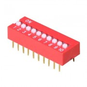 Image of DIP-10C Switch, 25mA/24VDC