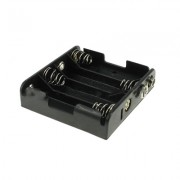 Image of Battery Holder AA, /1Rx4 battery/, Leads:6F22 type