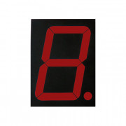 Image of Single LED Digit Display LSD-40165-11, 101.6 mm, common anode, RED