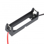 Image of Battery Holder 18650, /1Rx1 battery/, 150 mm wire