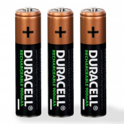 Image of Battery Cell AAA 1.2V, 900 mAh, Ni-MH, DURACELL