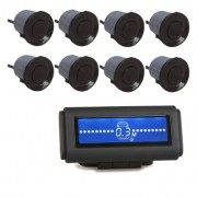 Image of Reverse Parking Aid, 8 sensors, LCD/ H-066