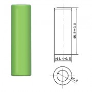Image of Battery Cell AA 1.2V, 1200 mAh, Ni-MH (industrial)