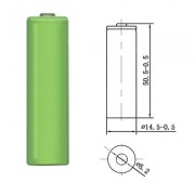 Image of Battery Cell AA 1.2V, 1300 mAh, Ni-MH