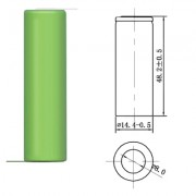 Image of Battery Cell AA 1.2V, 1300 mAh, Ni-MH (leads)